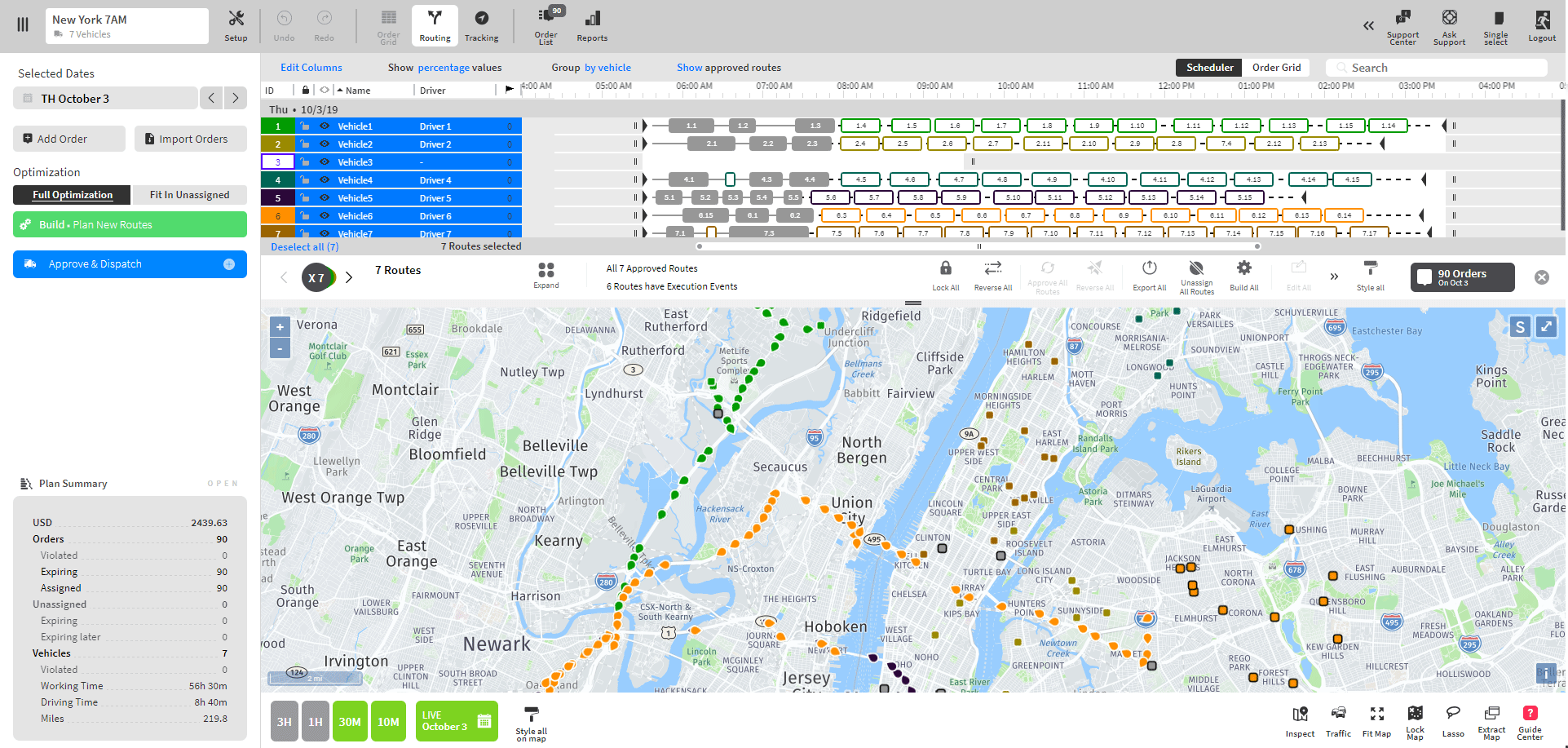 WorkWave Route Manager Software - 24-7 driver visibility