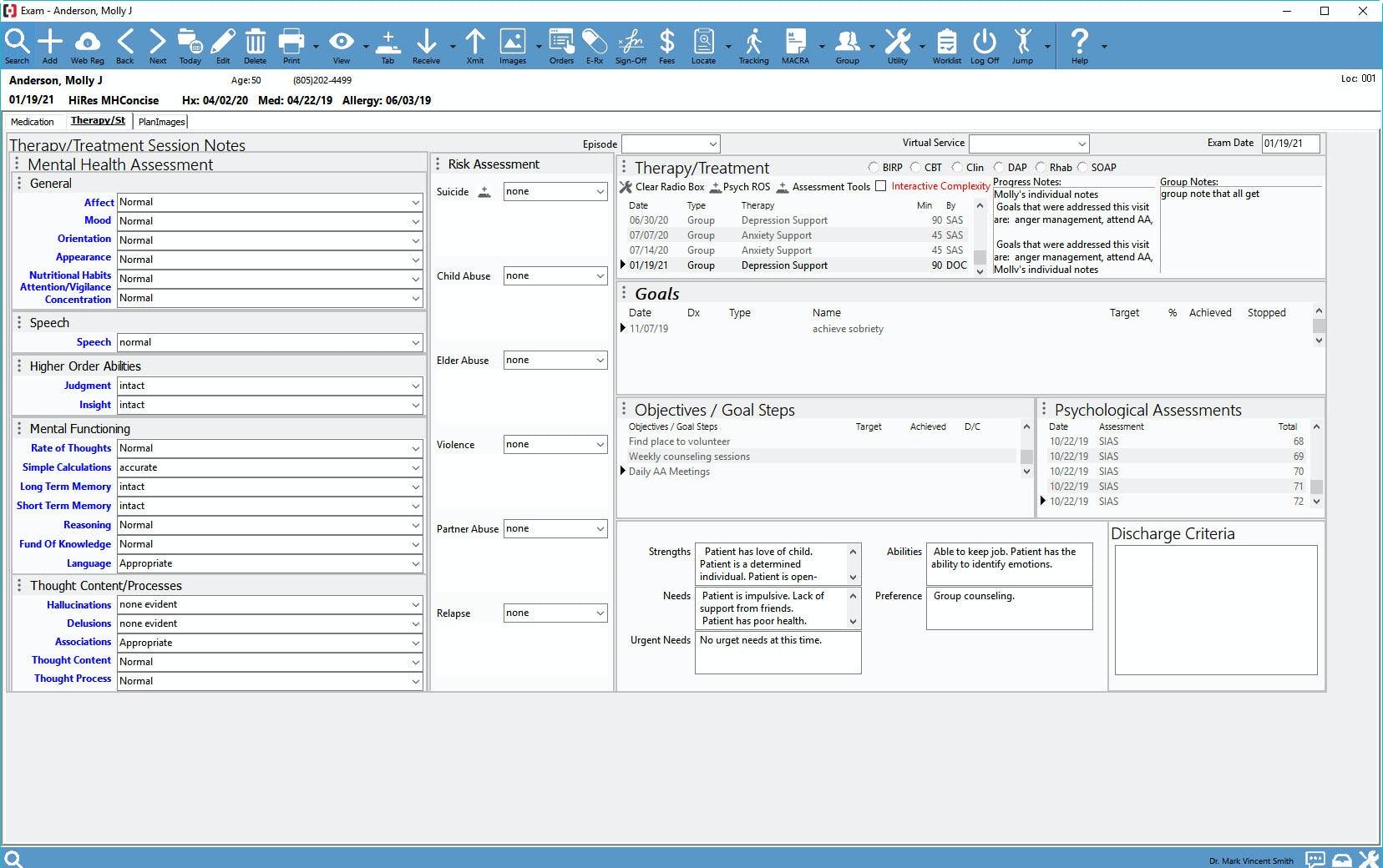 Compulink Healthcare Solutions Software - Compulink Psych Advantage