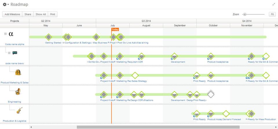 Planview Clarizen Software - 1