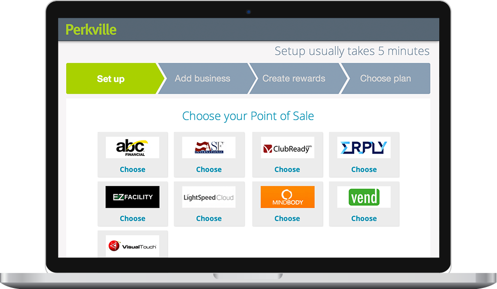 Perkville point of sale integrations