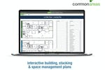 Common Areas screenshot: Visualize and interact with your plans more effectively. Using data collected during design and construction, tenant leasing, vendor management, and routine site visits, easily plot everyone and everything on a set of interactive plans.
