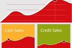 Deskera CRM screenshot: Sales Dashboard