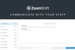 ZoomShift screenshot: Communicate With Your Staff