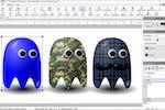 DrawPad screenshot: DrawPad draw shapes, adjust strokes, add solid and gradient fills