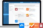 Captura de pantalla de MangoApps: 50+ built-in integrations allow you to easily move information back and forth between MangoApps and other enterprise systems.