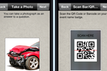 Harvest Your Data screenshot: Use pictures and scan bar codes using Harvest Your Data solution