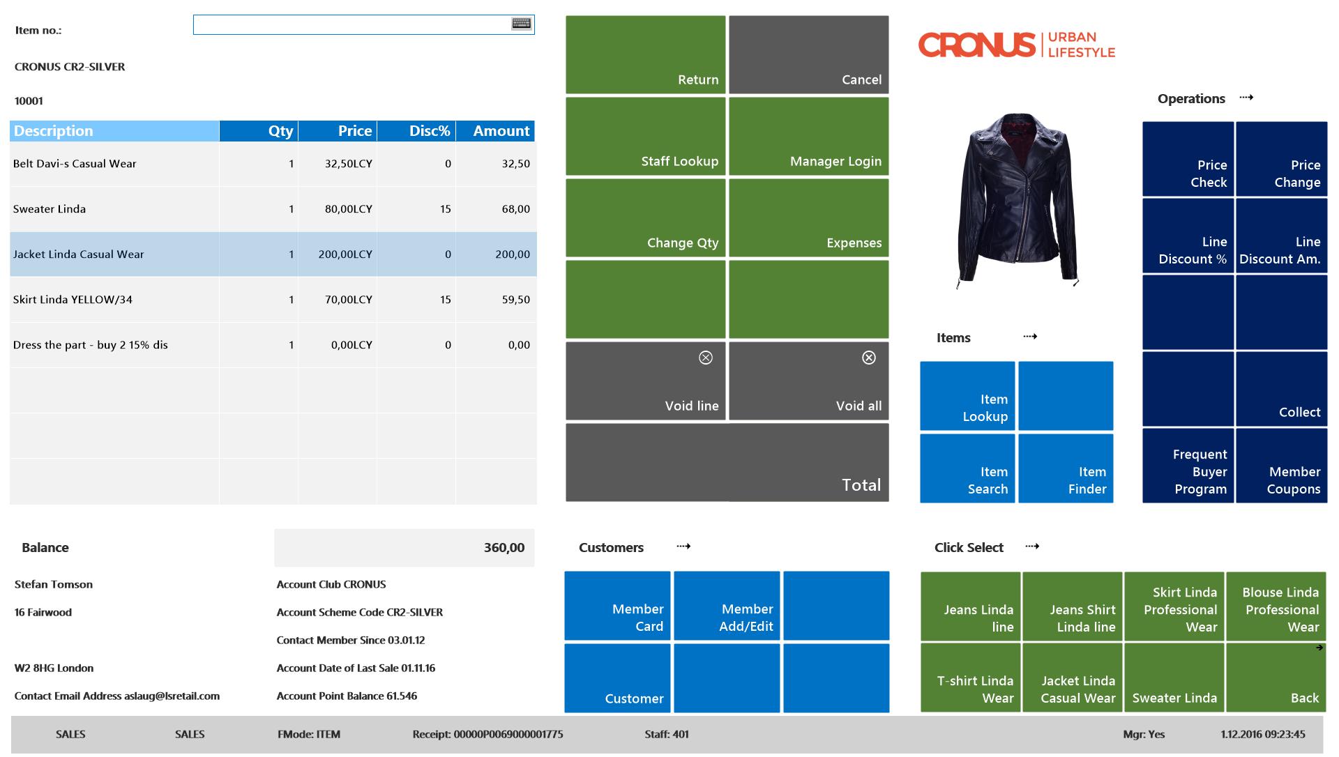 LS Retail Software - 2