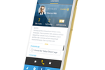 Lucep screenshot: Users can connect and manage leads via mobile device, as well as integrate with their current CRM