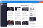 Sendible screenshot: Easily share fresh and engaging content for your client's using our content suggestions. Simply choose topics your client cares about and we will make suggestions on what content is more likely to generate higher follower engagement.