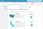 TurboTax Business screenshot: View a summary of returns and print, save or preview the year's return