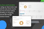 DataFeedWatch screenshot: Google Merchant Center feed review