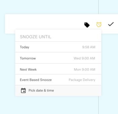 Set up intelligent reminders for follow-ups