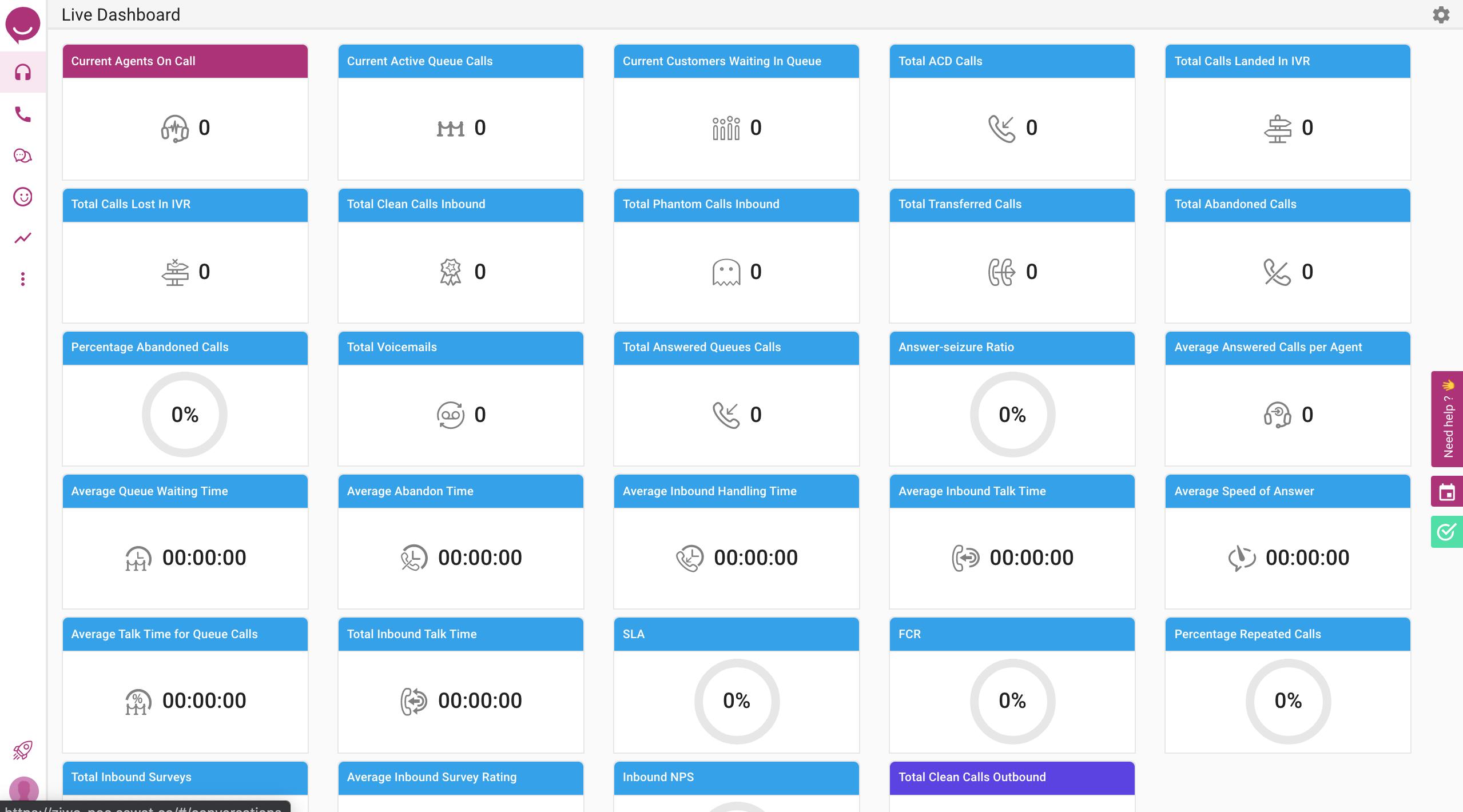 Live KPI Dashboard