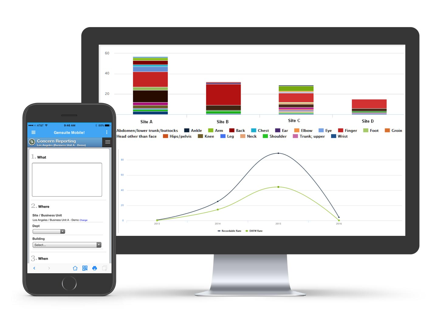 Application specific data mining, reporting and charting tools; out-of-the-box software solution. Integrated dashboards across applications personalized by user and by organization scope; custom layout options; automated email subscriptions etc.