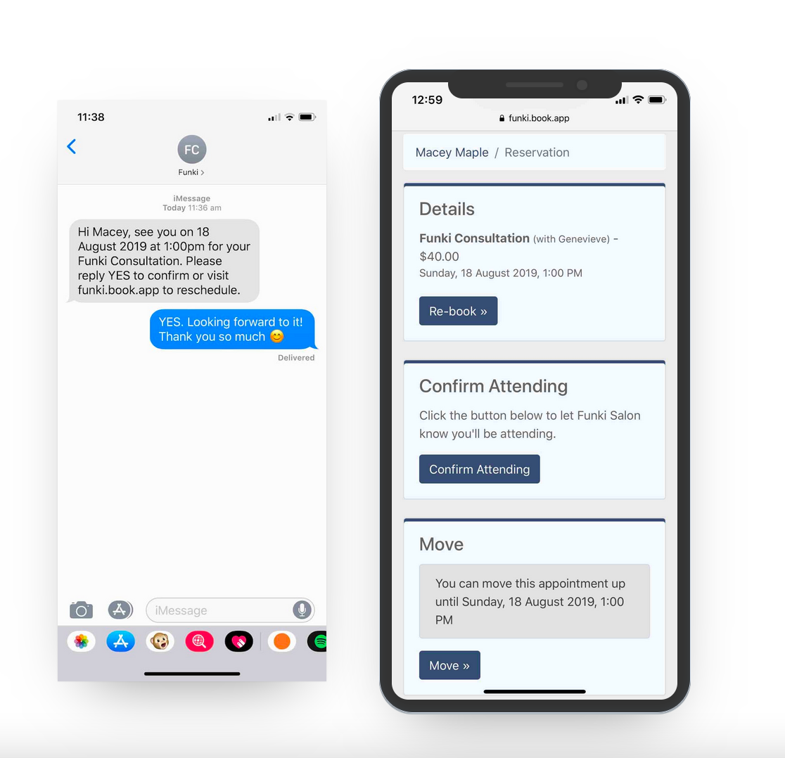 Ovatu Software - SMS & Email Reminders - Eliminate No-Shows