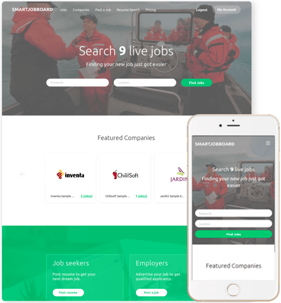 Job boards can be customized for different niches and brands