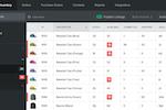 Captura de tela do Stitch Labs: Stitch Labs Inventory