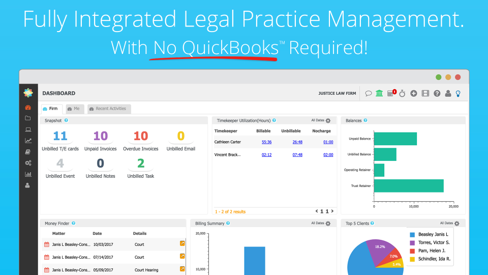 CosmoLex - Fully Integrated Practice Management Software