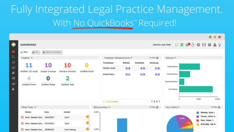 CosmoLex Software - CosmoLex - Fully Integrated Practice Management Software