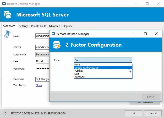 Remote Desktop Manager Logiciel - 3