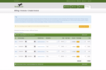 Horsebills screenshot: Horsebills users can create a single invoice and electronically send it to all owners of a horse.