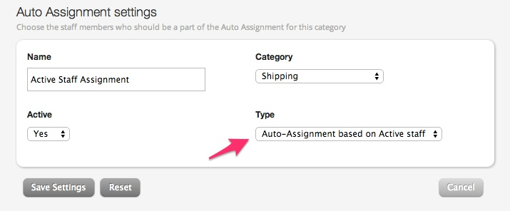 Ticket auto-assignment