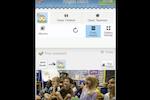 Remini screenshot: Educators can tag children in photographs