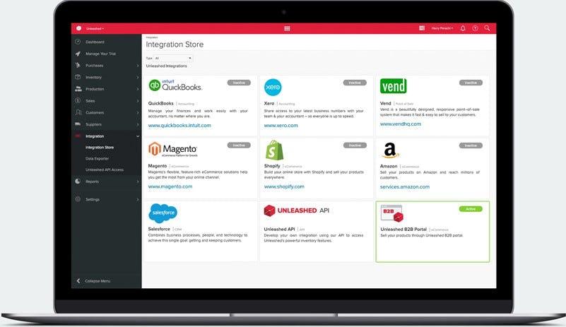 Unleashed Software - Unleashed app marketplace
