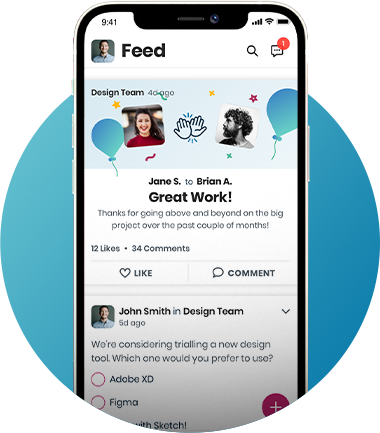 Engage4 Software - Recognise the great work your colleagues are doing