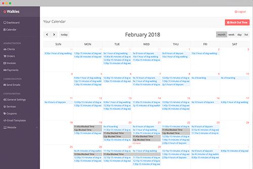 Walkles calendar