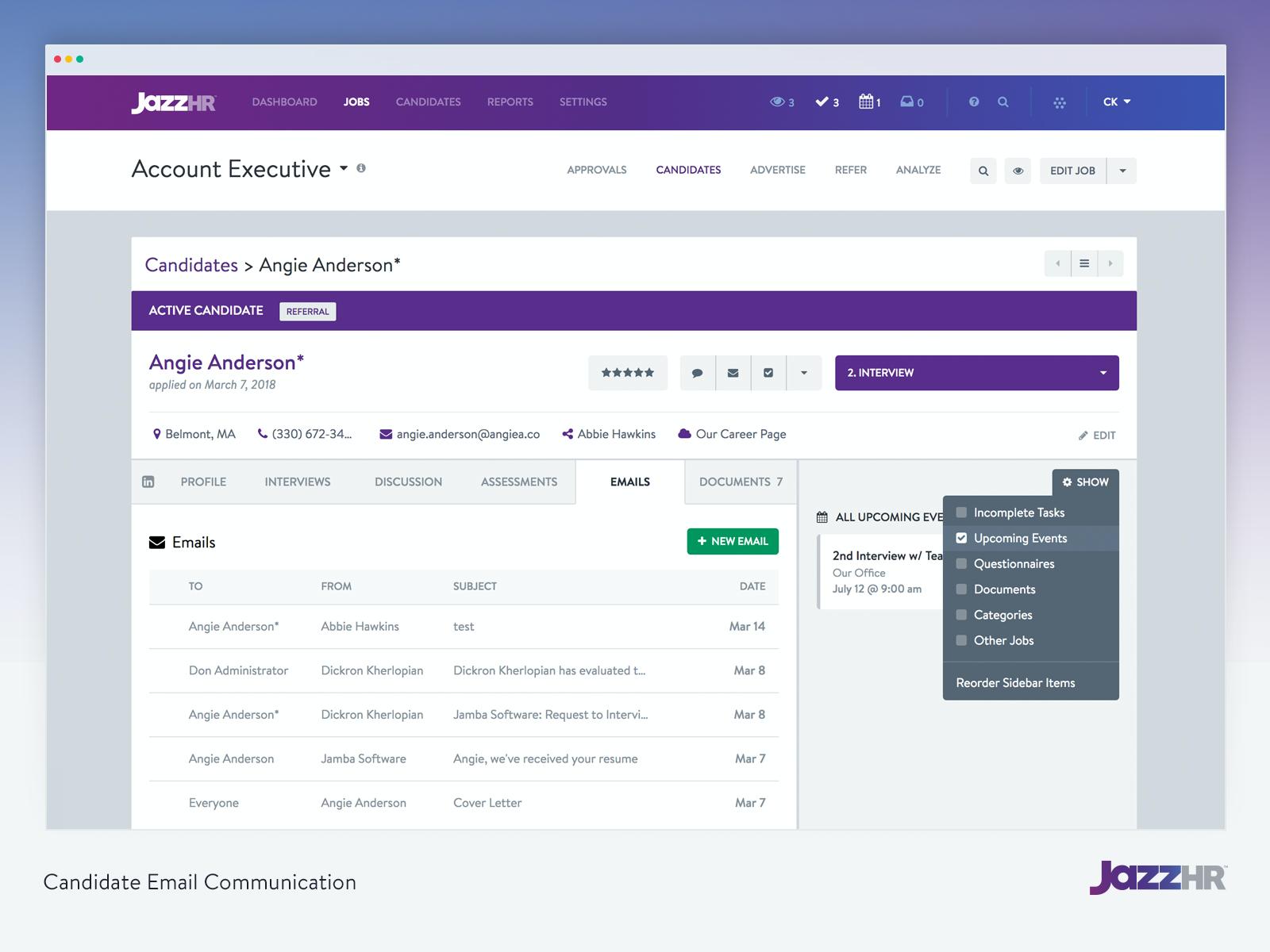 JazzHR Software - 7