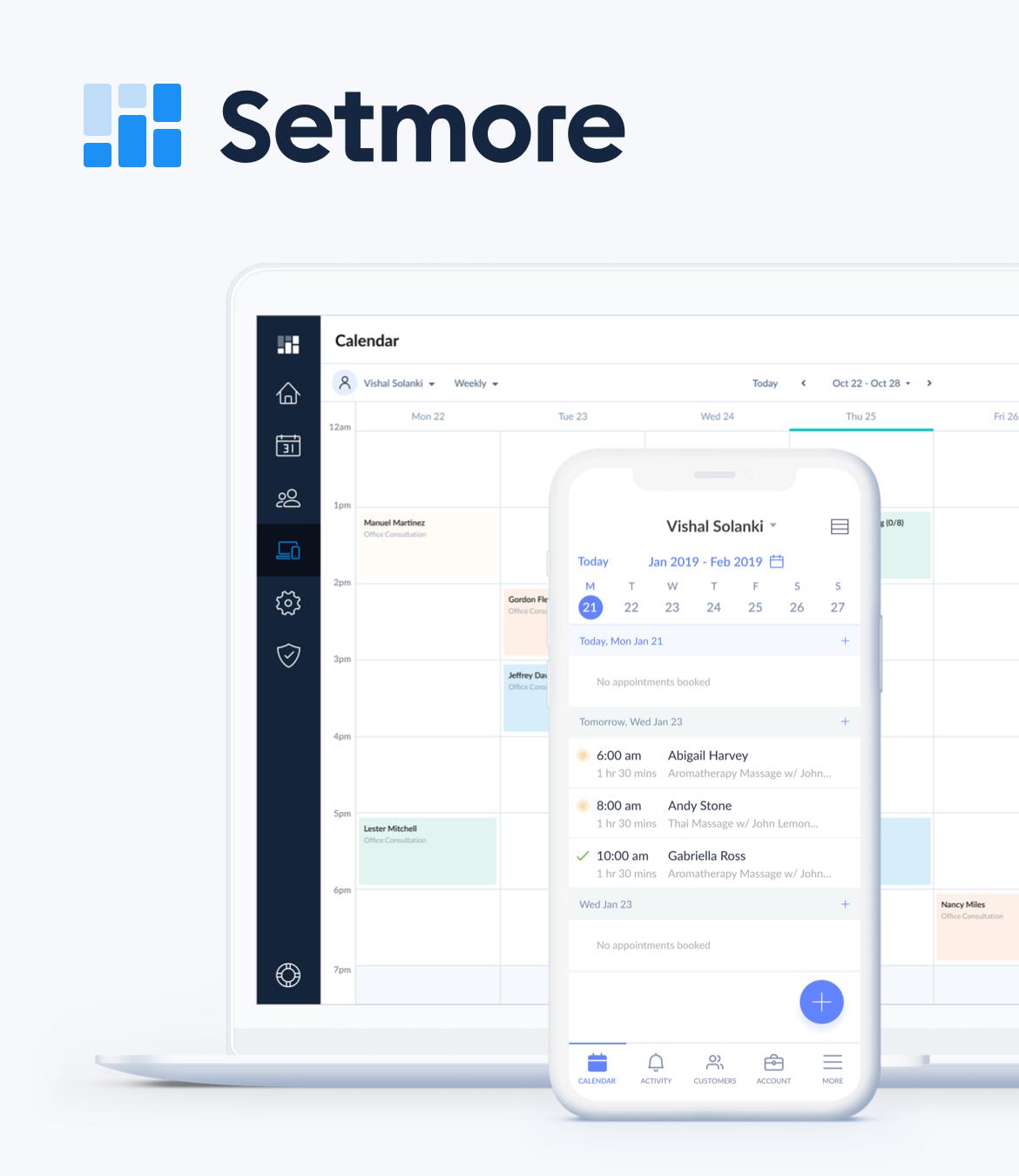 Setmore Software - 2