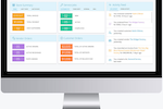 Blackpurl screenshot: Interactive dashboard keeps you in touch with your business and team activity