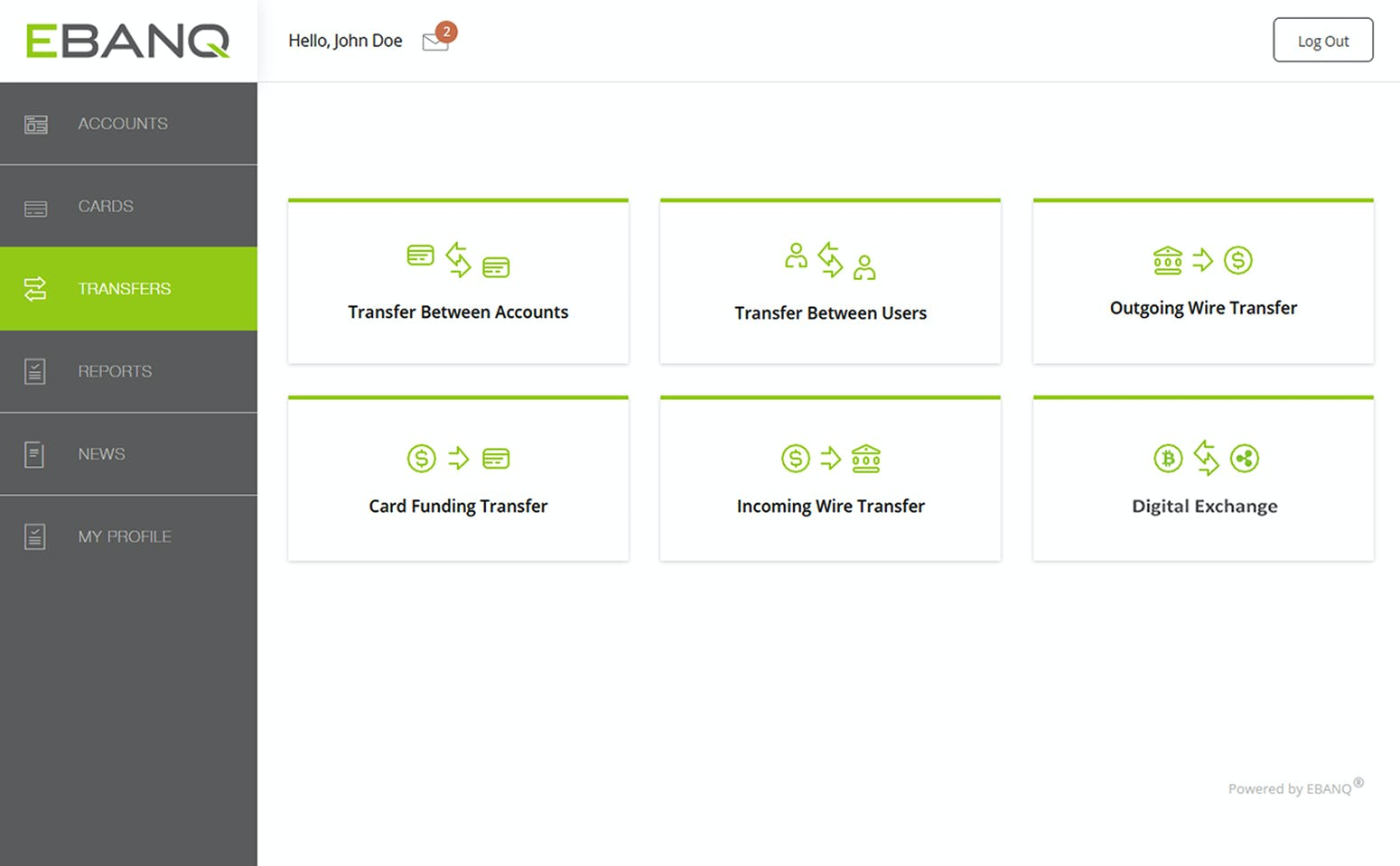EBANQ Software - EBANQ transfer
