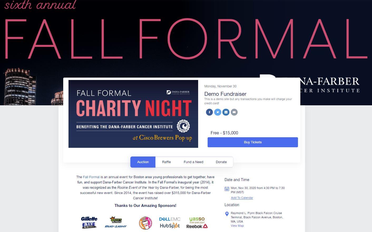 Build a custom event website