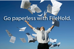 Captura de pantalla de FileHold: Document Management Software