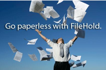 FileHold screenshot: Document Management Software