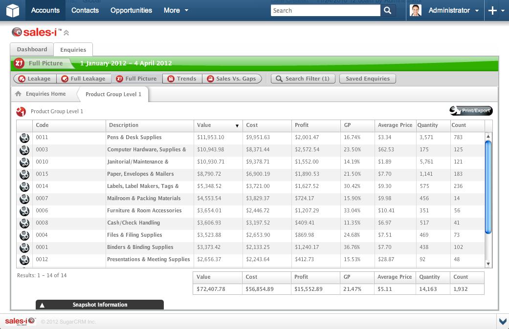 sales-i Software - sales-i Enquiries