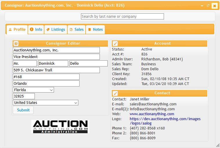 Business Auctions Logiciel - 1