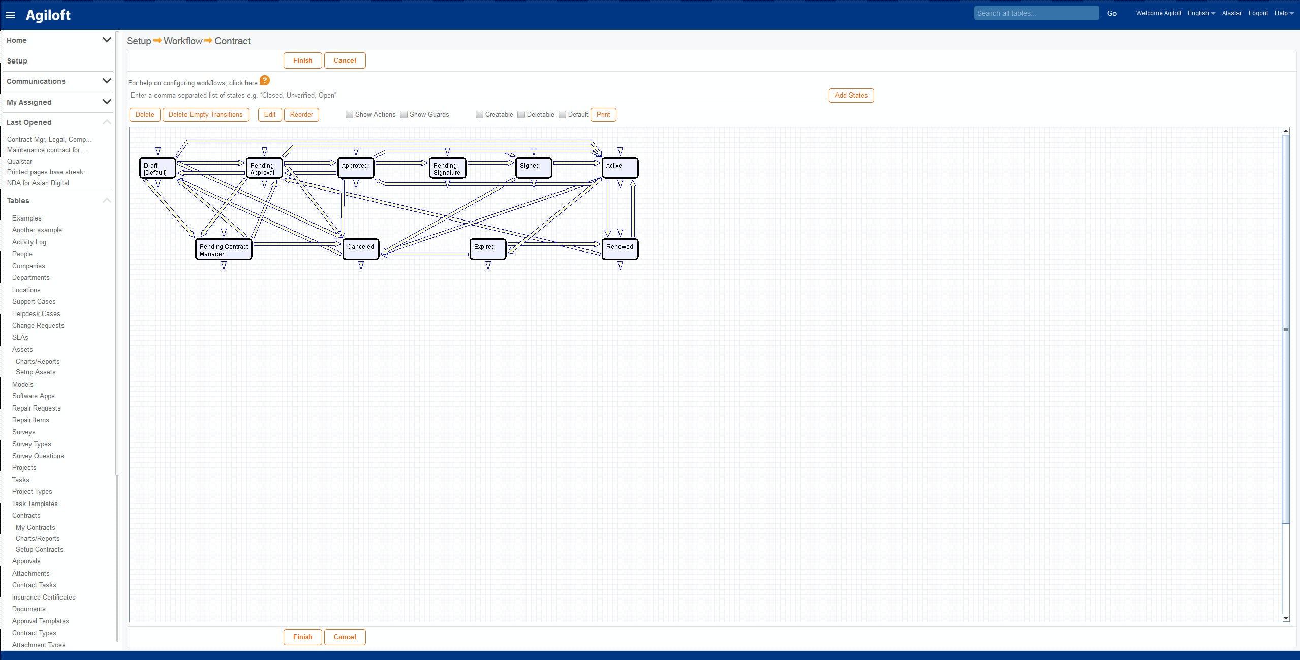 Agiloft Software - Workflow