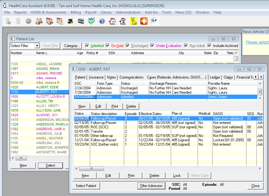 Manage centric data forms