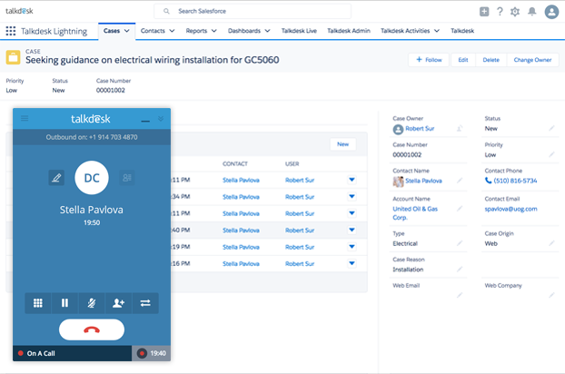 Talkdesk for Salesforce