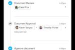 Groupe.io screenshot: Real-time work tracking