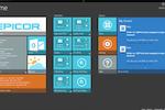 Captura de tela do Epicor ERP: Add and edit tiles with customizable dashboards for each user
