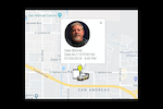 SkyBoss screenshot: Track techs with the built in tracking system or sign up with TomTom Webfleet