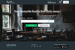 Capture d'écran pour LimeTray : Customers can order online through LimeTray's food ordering portal