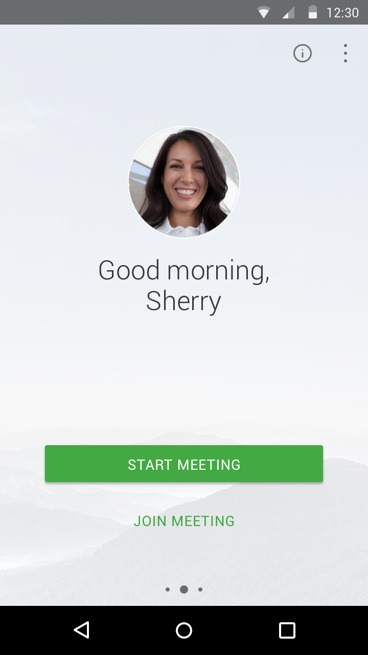 Cisco WebEx offers native apps for Android and iOS