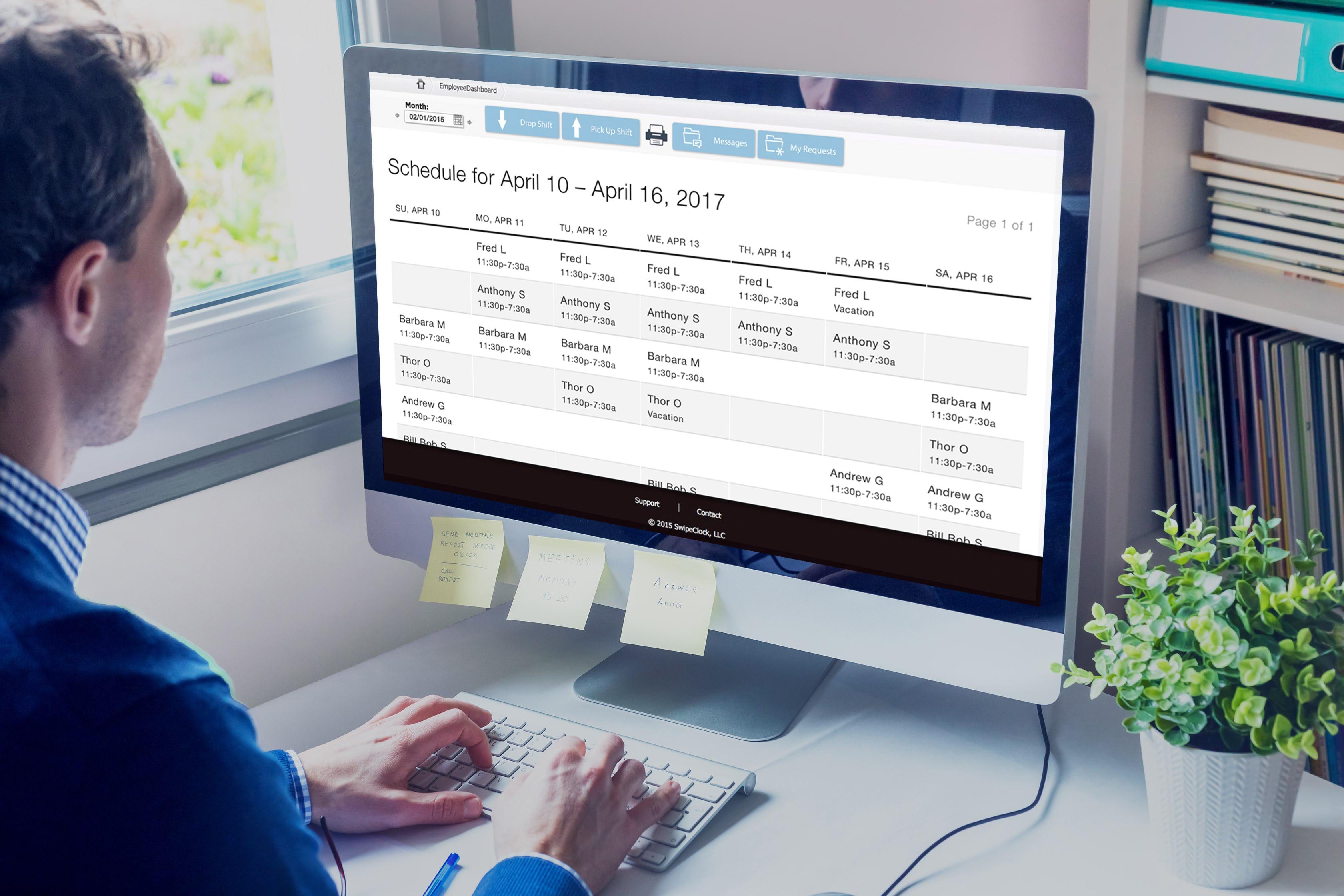 WorkforceHub Software - WorkforceHub Scheduling