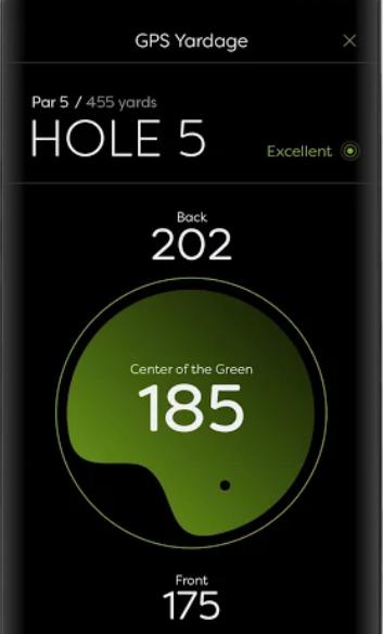 GolfStatus GPS yardage
