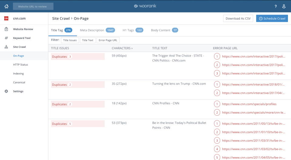 WooRank Software - 3
